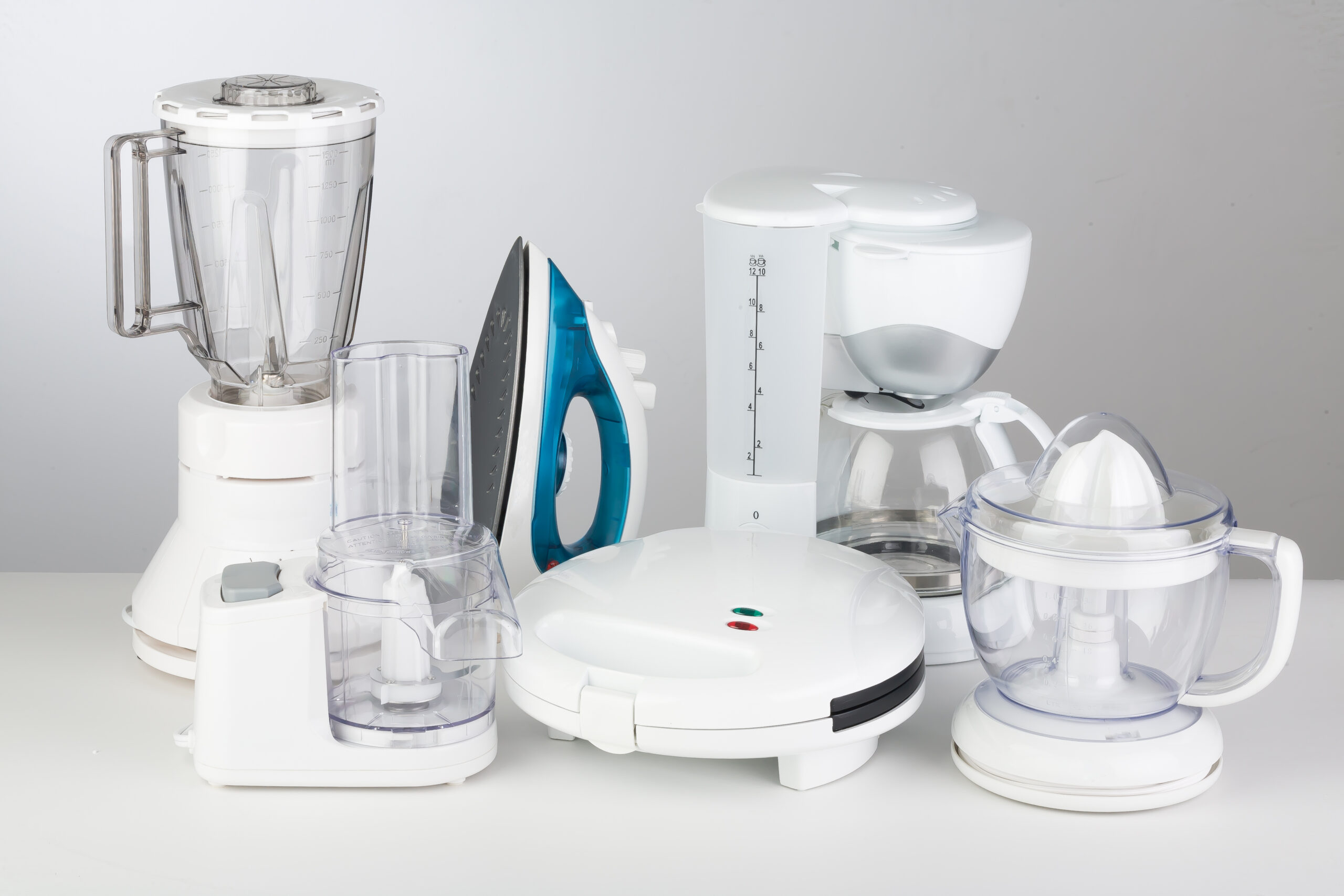 Kitchen,Appliances,On,A,Neutral,Background